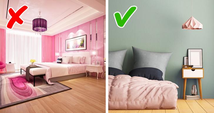 căn phòng màu hồng