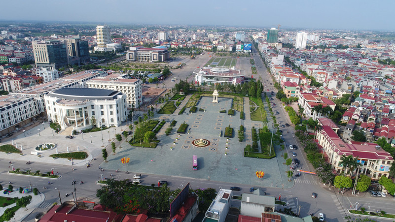 quy hoạch trung tâm hành chính Bắc Giang