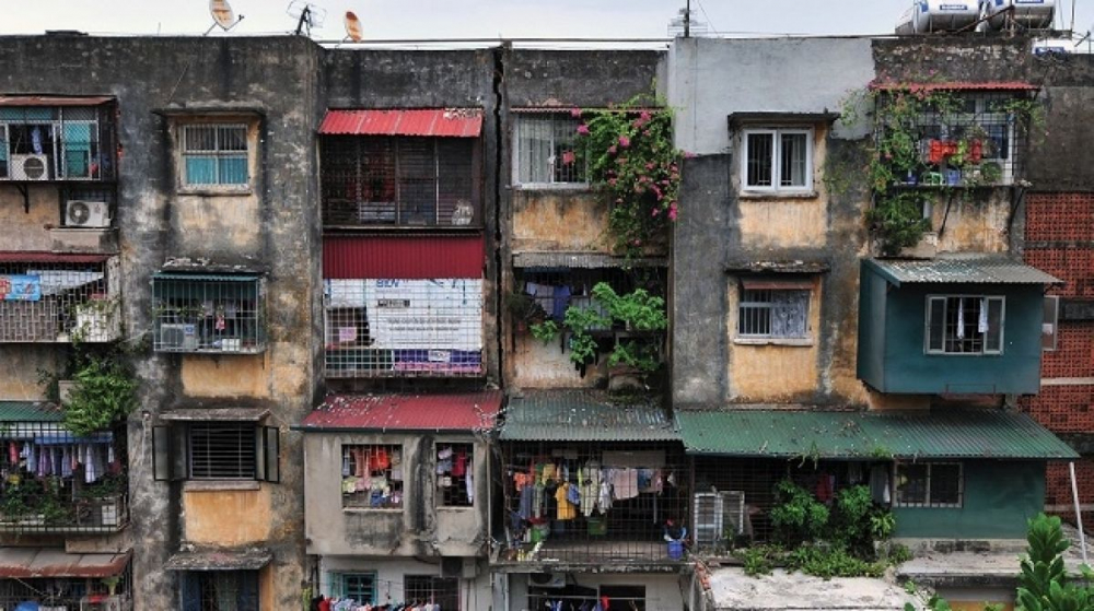 Hình ảnh dự án chung cư cũ cần được cải tạo, xây dựng lại