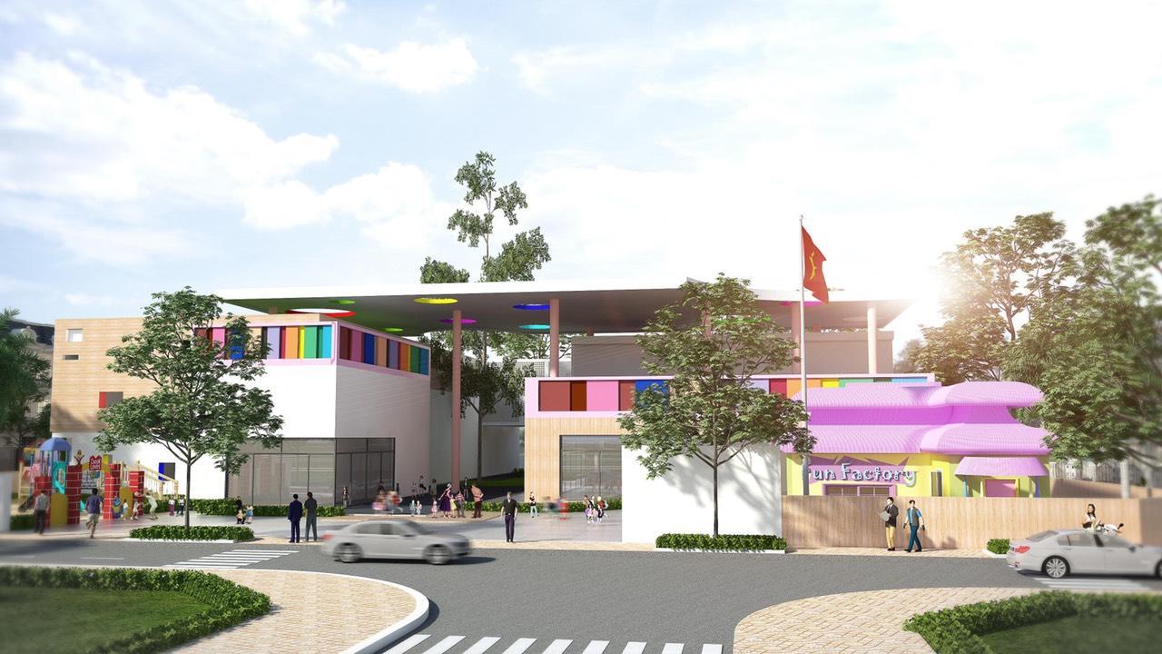 Trường học nội khu  tại dự án KĐT Phúc Hưng Golden