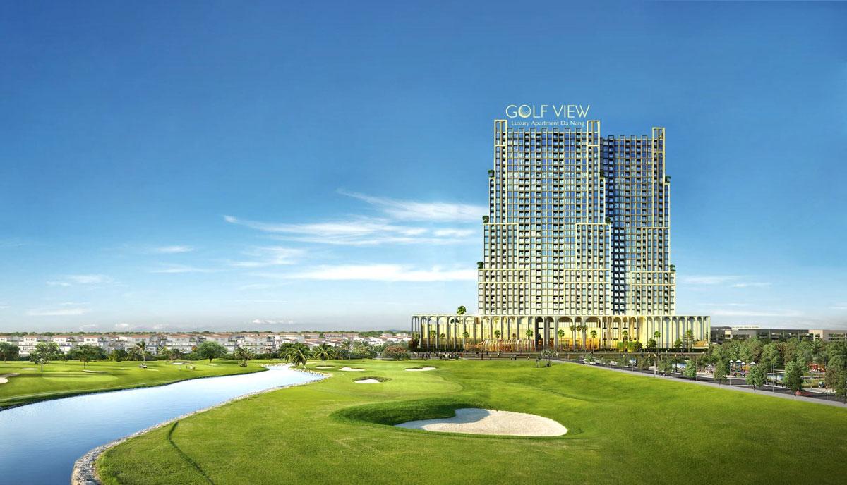 Phối cảnh tổng thể dự án Golf View Luxury Apartment