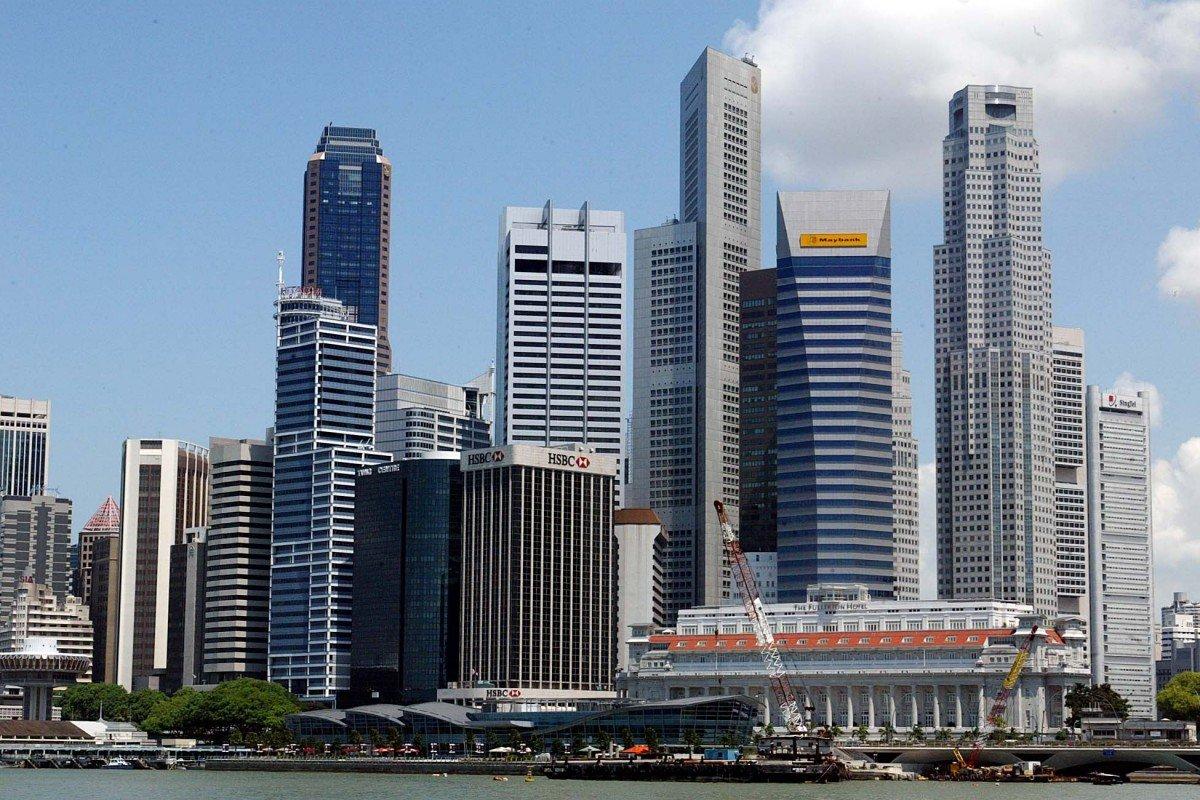 khu trung tâm tài chính của Singapore