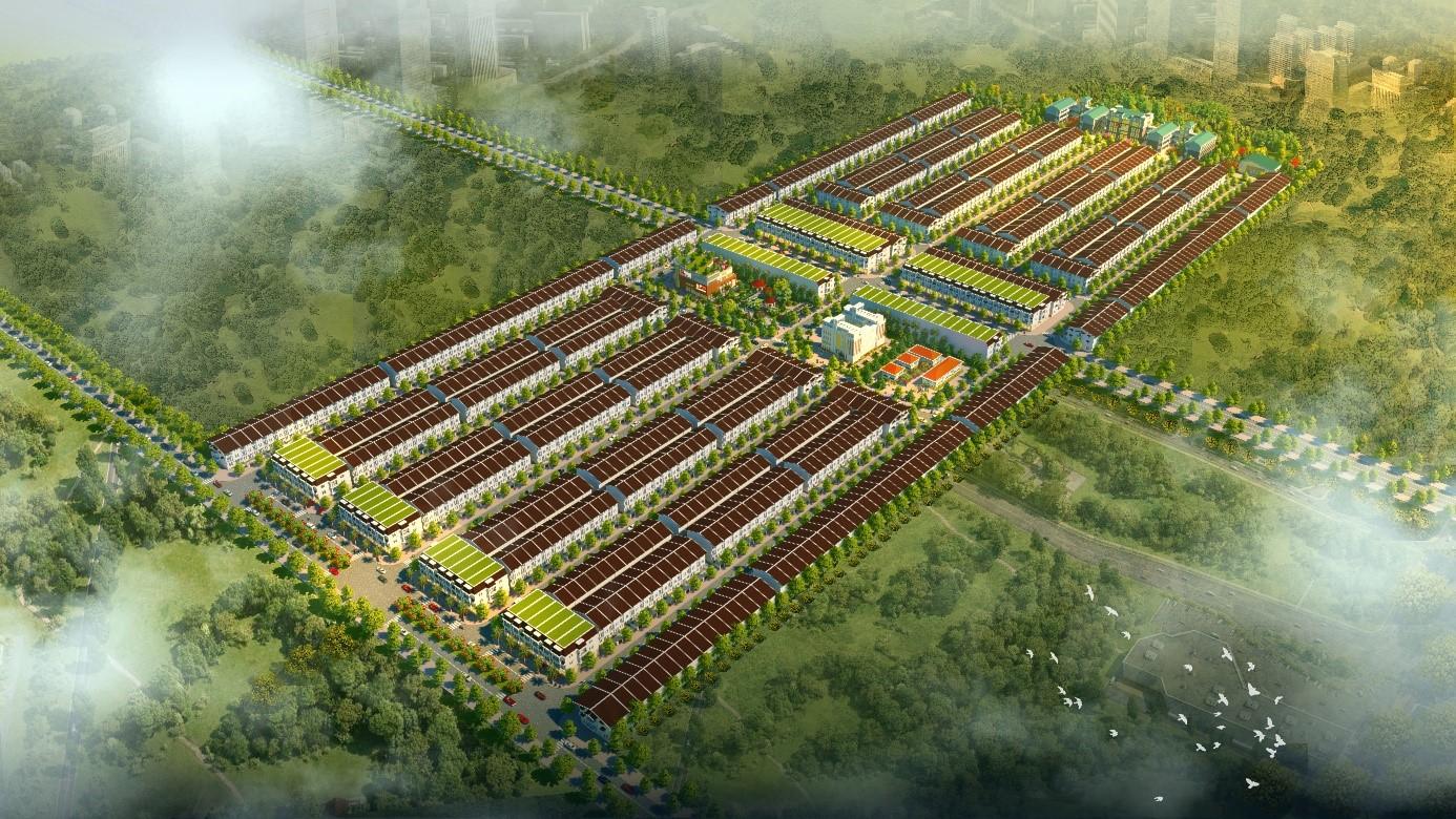 Phối cảnh tổng thể dự án Nam An New City