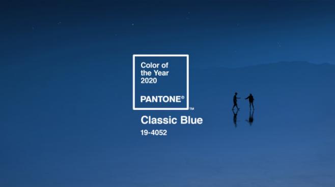 màu xanh cổ điển mã 19-4052