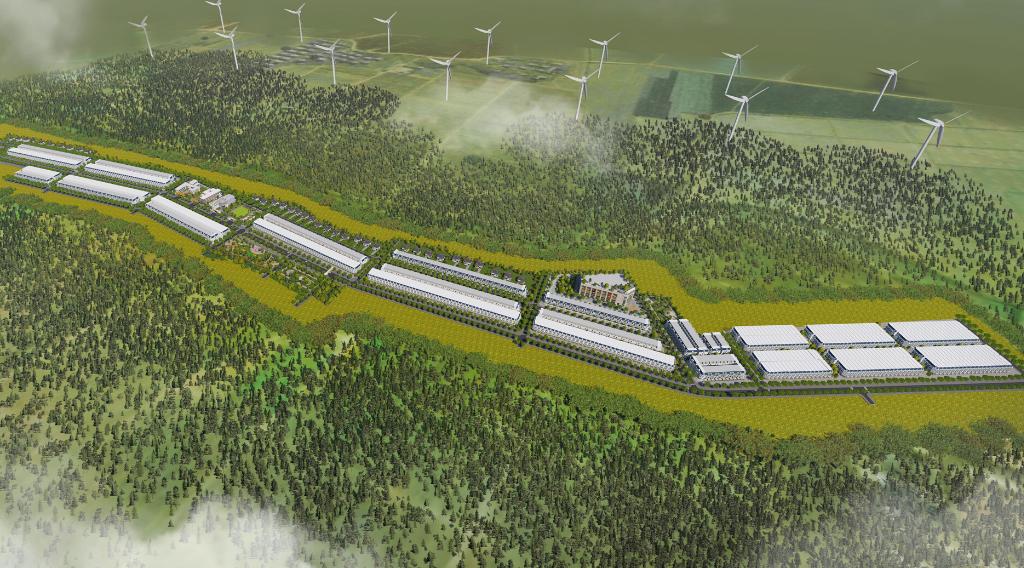 Hình ảnh phối cảnh dự án Gia Lai New City Huyện Chư Prông, tỉnh Gia Lai