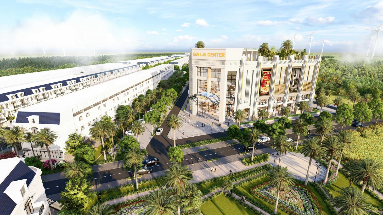 Trung tâm thương mại tại Gia Lai New City