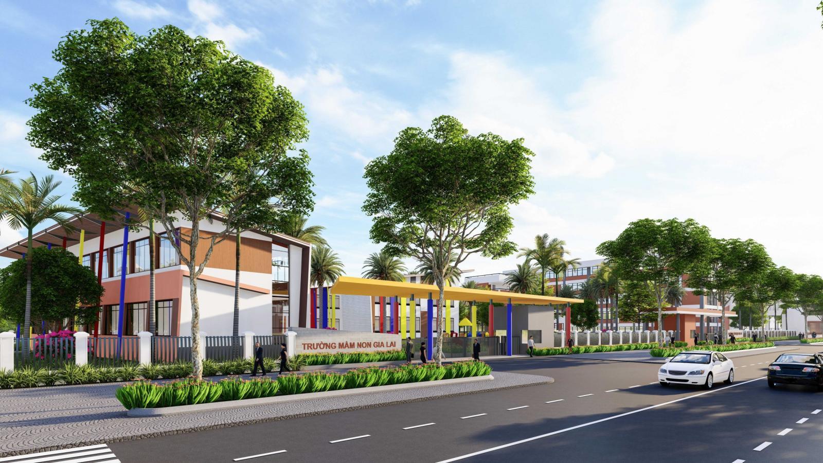 Trường mầm non tại Gia Lai New City