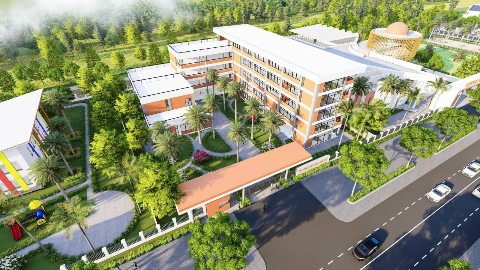 Trường tiểu học tại Gia Lai New City
