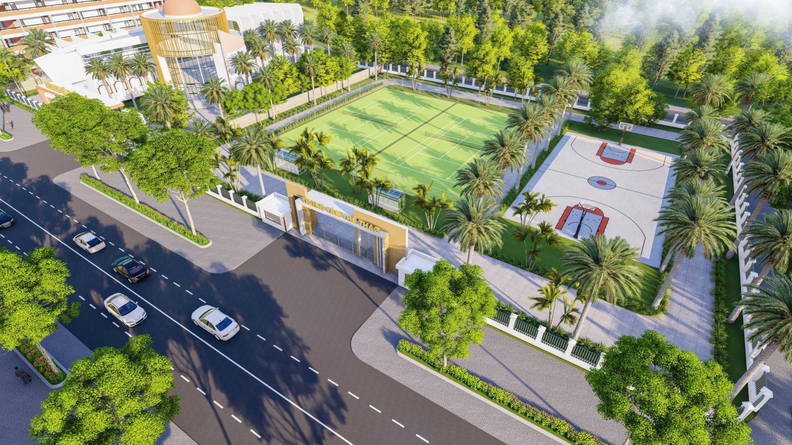 Trung tâm thể thao tại Gia Lai New City