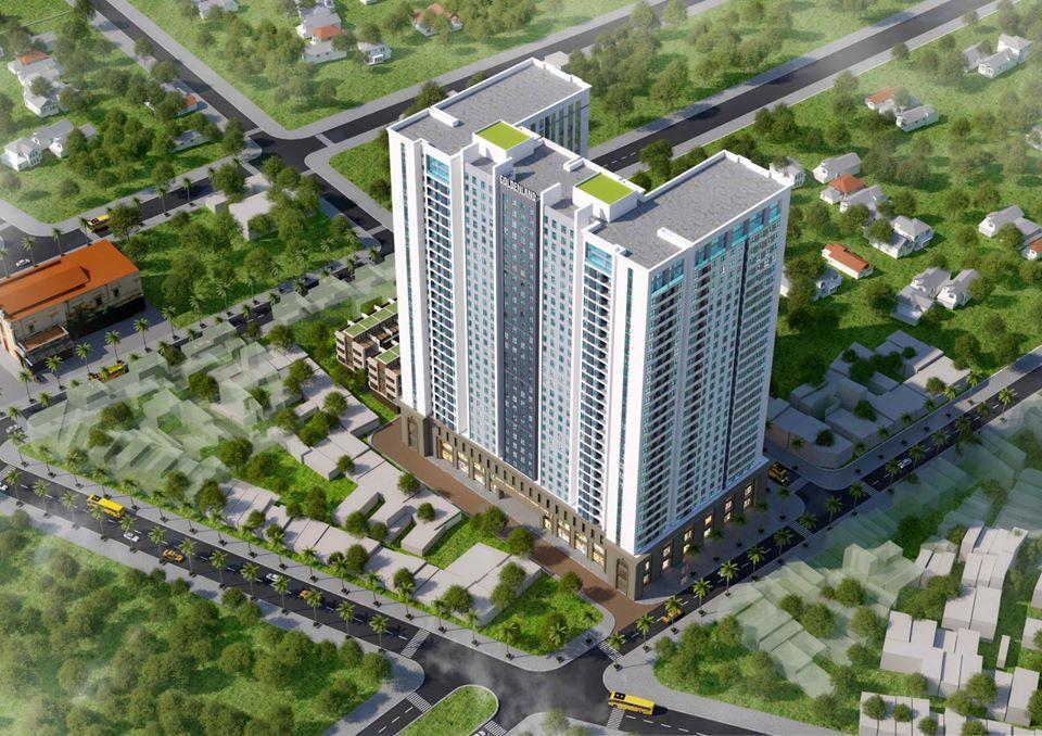 hình ảnh Phối cảnh dự án Căn hộ Hoàng Huy Plaza