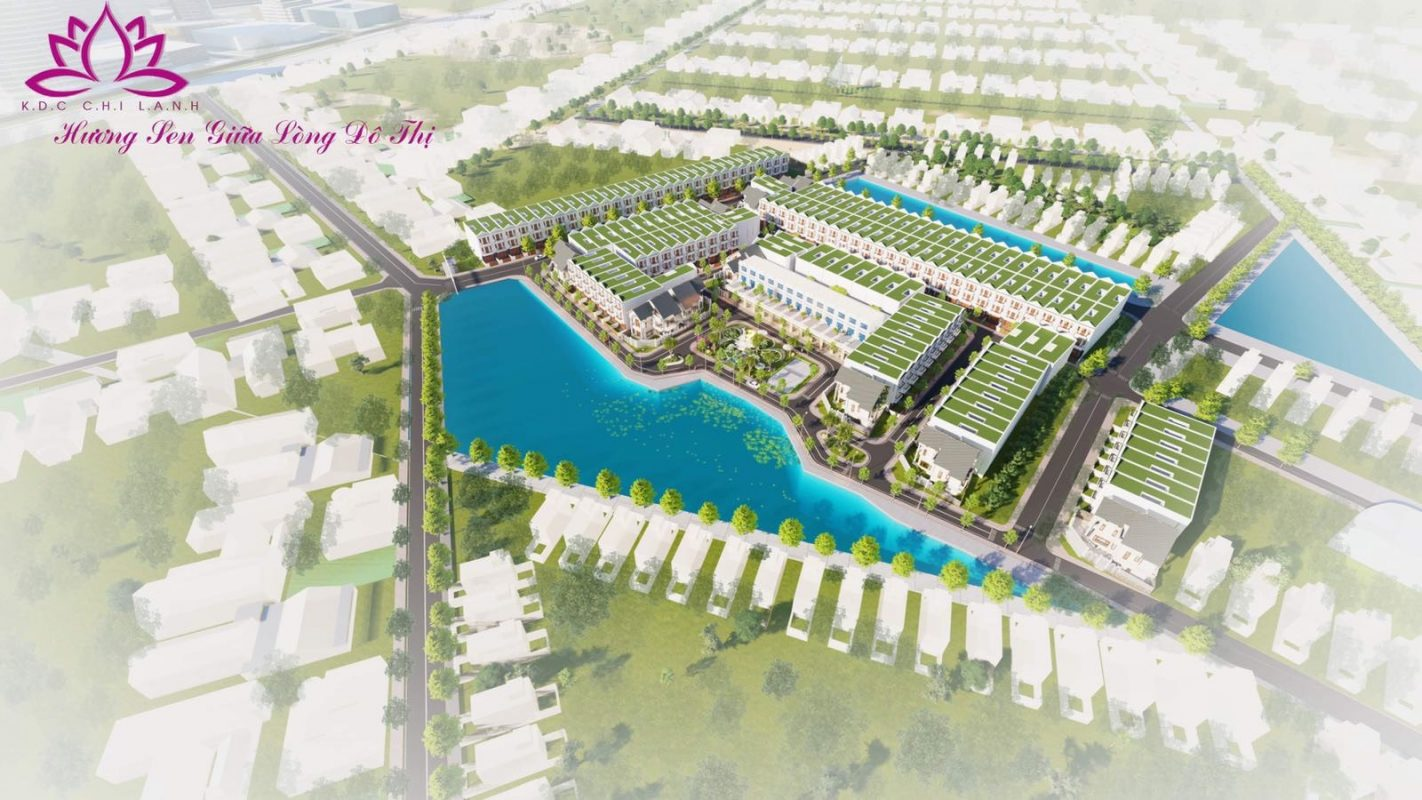 Hình ảnh phối cảnh Khu dân cư Chí Lành tại Phan Rang - Tháp Chàm