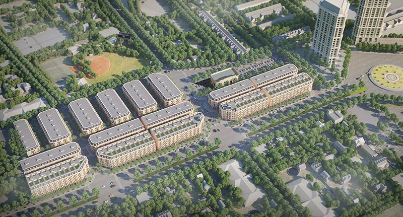Hình ảnh phối cảnh dự án Kiến Hưng Luxury tại Hà Đông