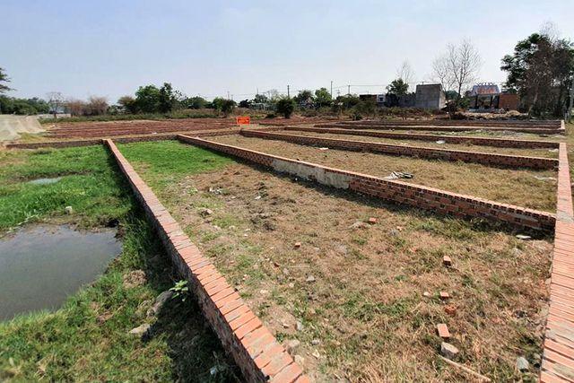Khu đất lớn được tách thành nhiều thửa đất nhỏ
