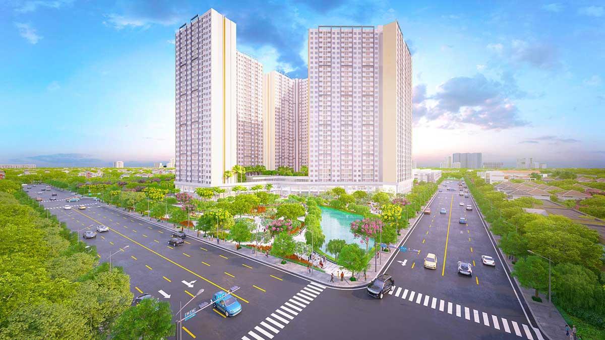 Phối cảnh tổng thể dự án City Gate 4