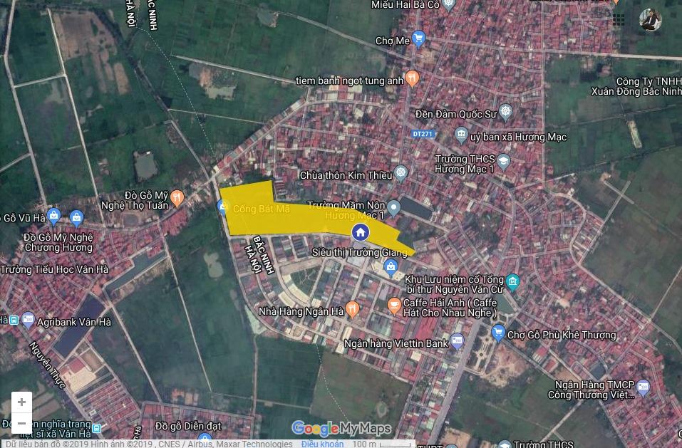Vị trí dự án Bảo Long New City trên bản đồ