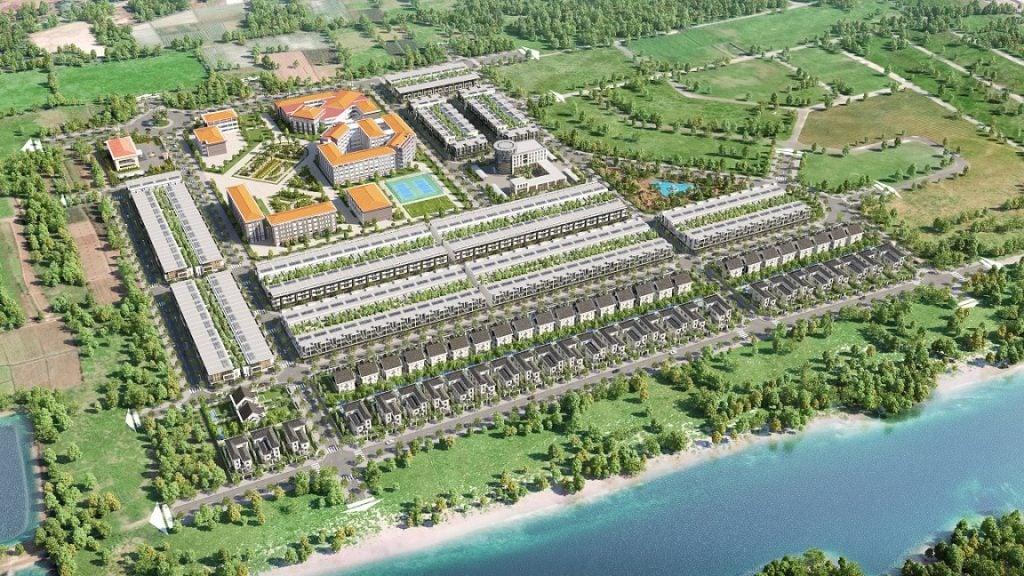 Phối cảnh tổng thể dự án Goldland Cồn Khương tại Ninh Kiều, Cần Thơ