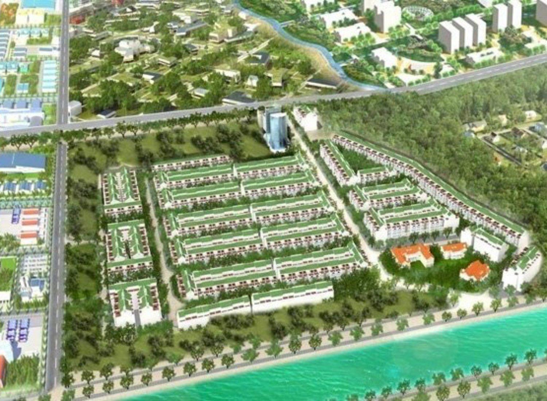 Phối cảnh tổng thể dự án Tân Kiên Residence huyện Bình Chánh, Tp.HCM