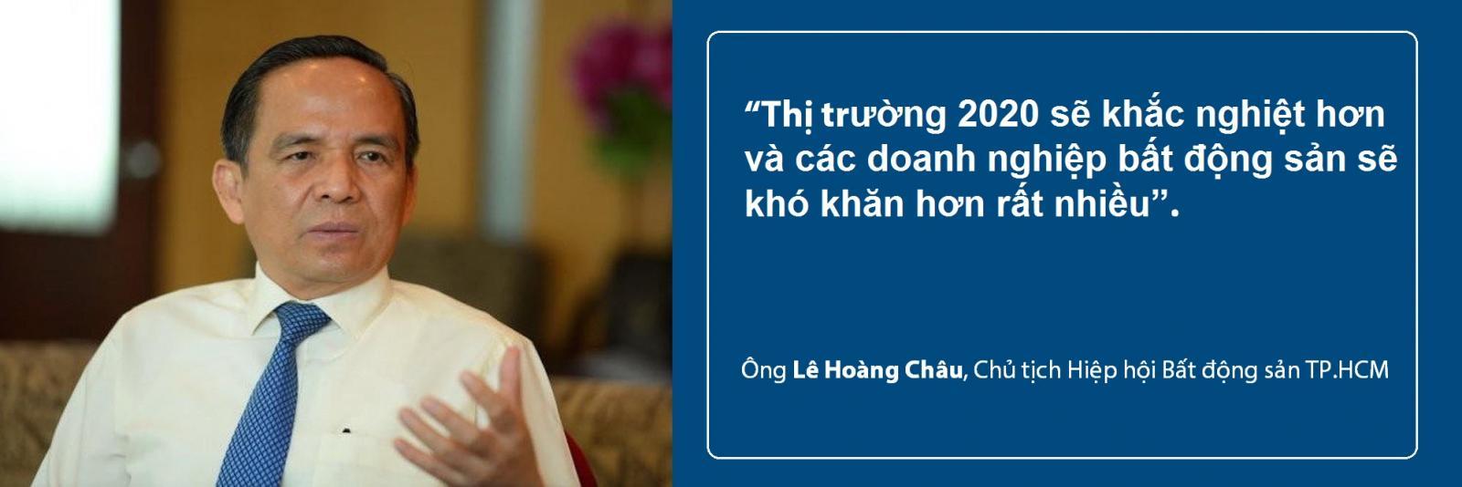 Ông Lê Hoàng Châu nhận định về thị trường bất động sản năm 2020