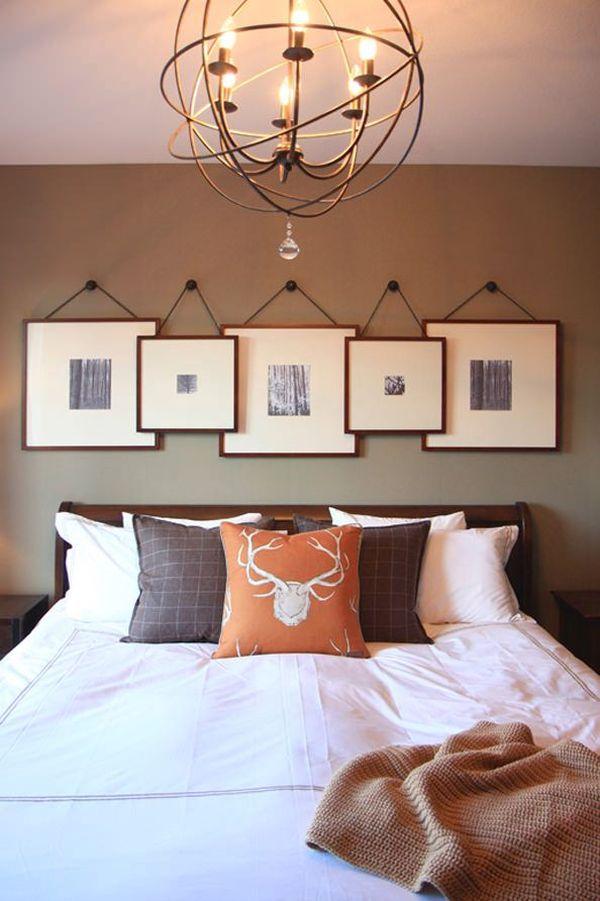 bộ tranh đơn giản treo đầu giường