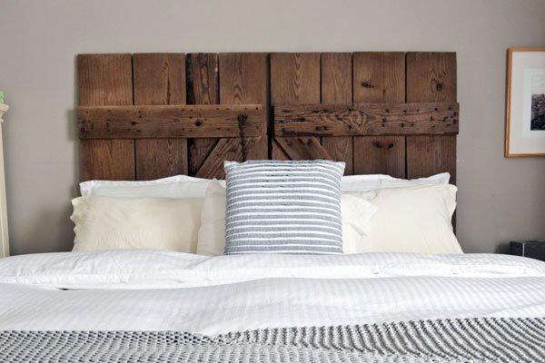 tấm chắn đầu giường bằng gỗ