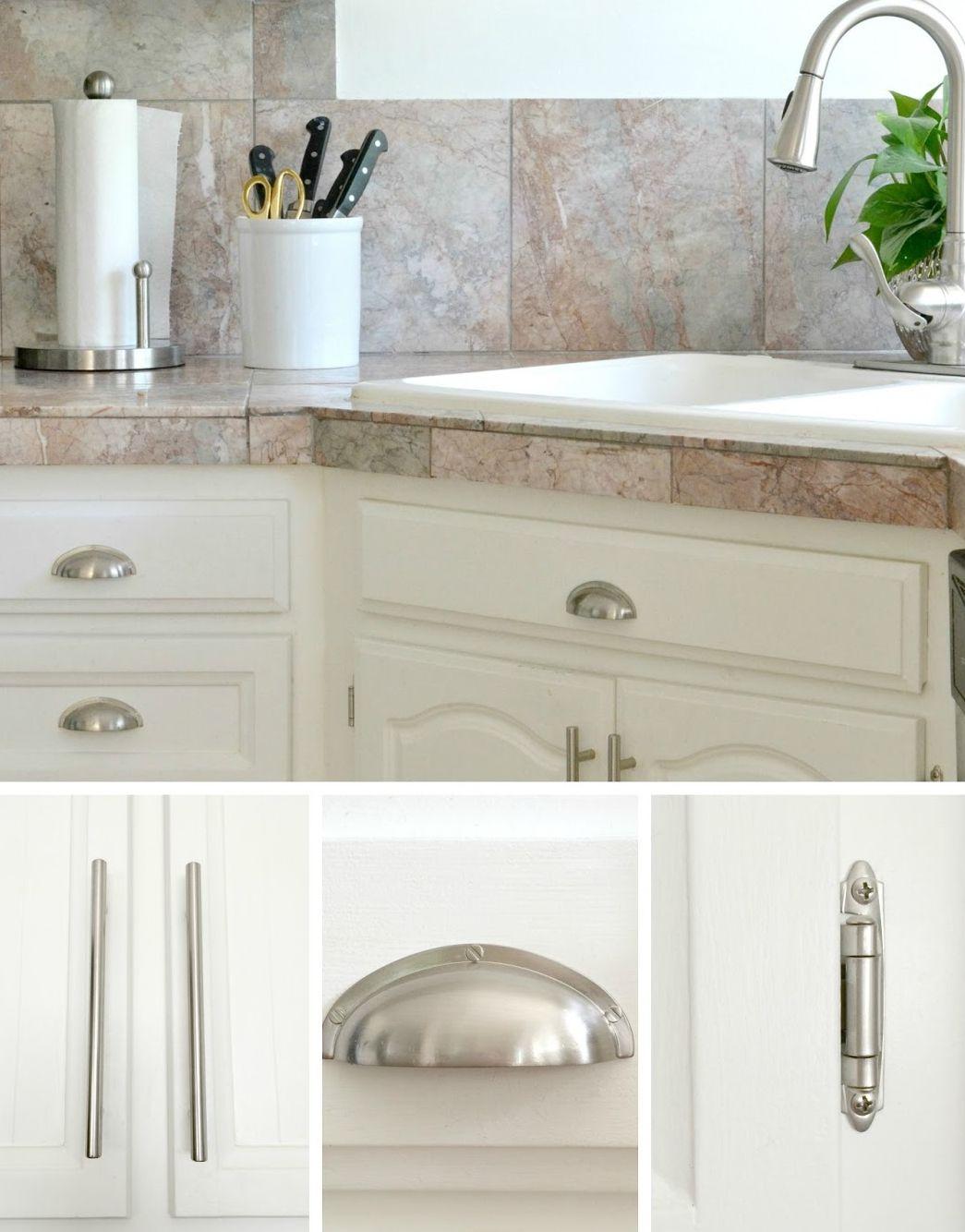 vòi nước và các phụ kiện tủ bếp màu bạc