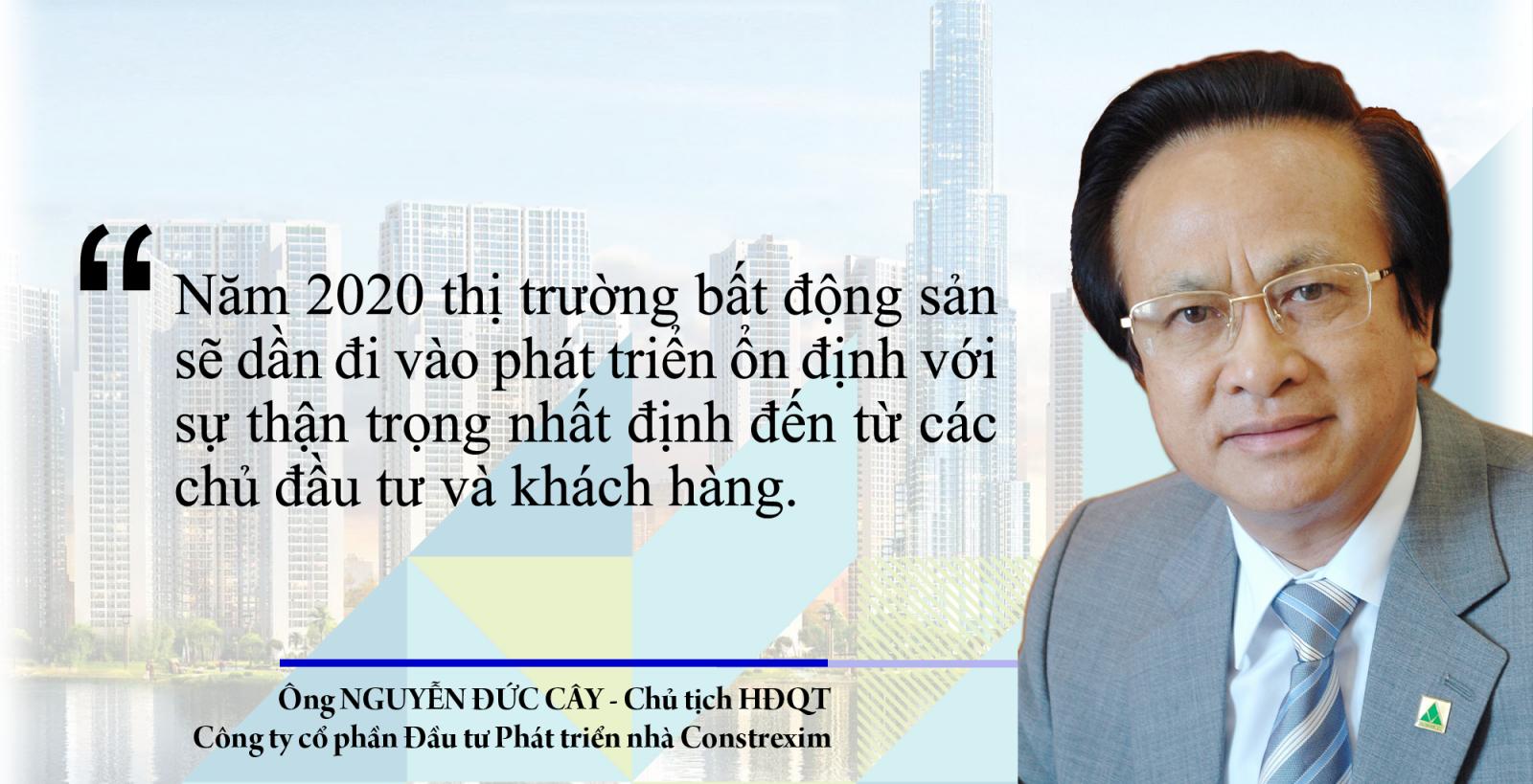 Chân dung người đàn ông trung tuổi, đeo kính trắng, mặc vest xám.  Dự cảm thị trường BĐS năm 2020 (Kỳ 1): Góc nhìn tích cực từ doanh nghiệp 20200110095605 f00c