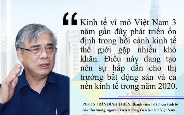 Lời dự báo của PGS.TS Trần Đình Thiên, Thành viên Tổ tư vấn kinh tế của Thủ tướng, Nguyên Viện trưởng Viện Kinh tế Việt Nam