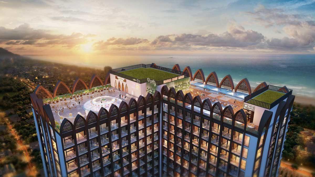 Tiện ích tầng thượng căn hộ Apec Mandala Grand Phú Yên