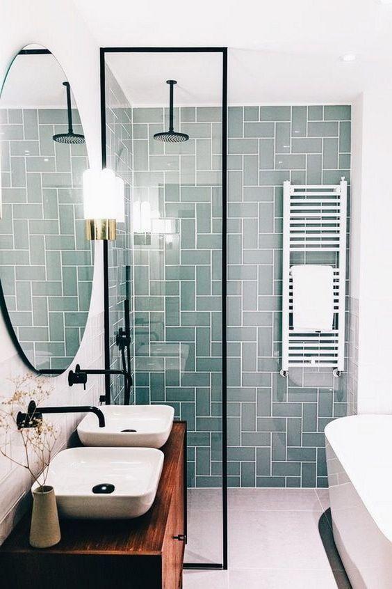 vách tắm bằng kính