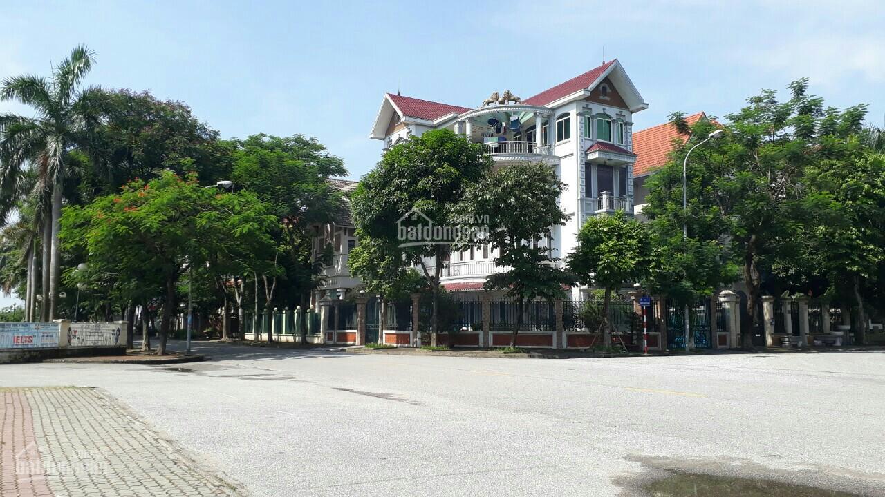 Bán lô góc đất biệt thự tại bán đảo Linh Đàm, 300m2, đường trước nhà rộng, vị trí đắc địa