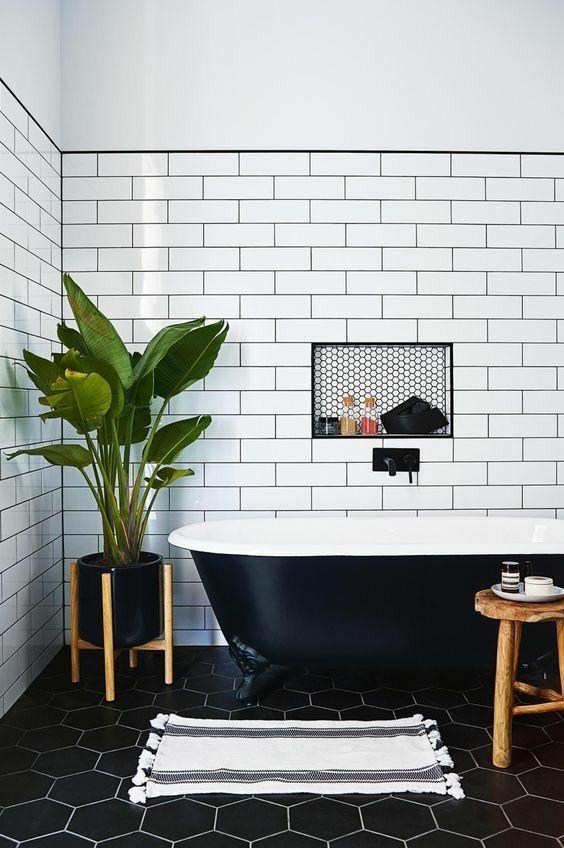 bồn tắm màu đen