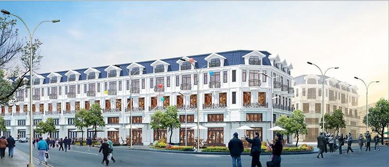 Hình ảnh phối cảnh dự án Yên Phong Residence