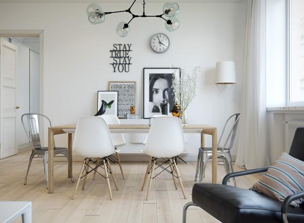 tranh ảnh, tác phẩm nghệ thuật trên tường phòng ăn