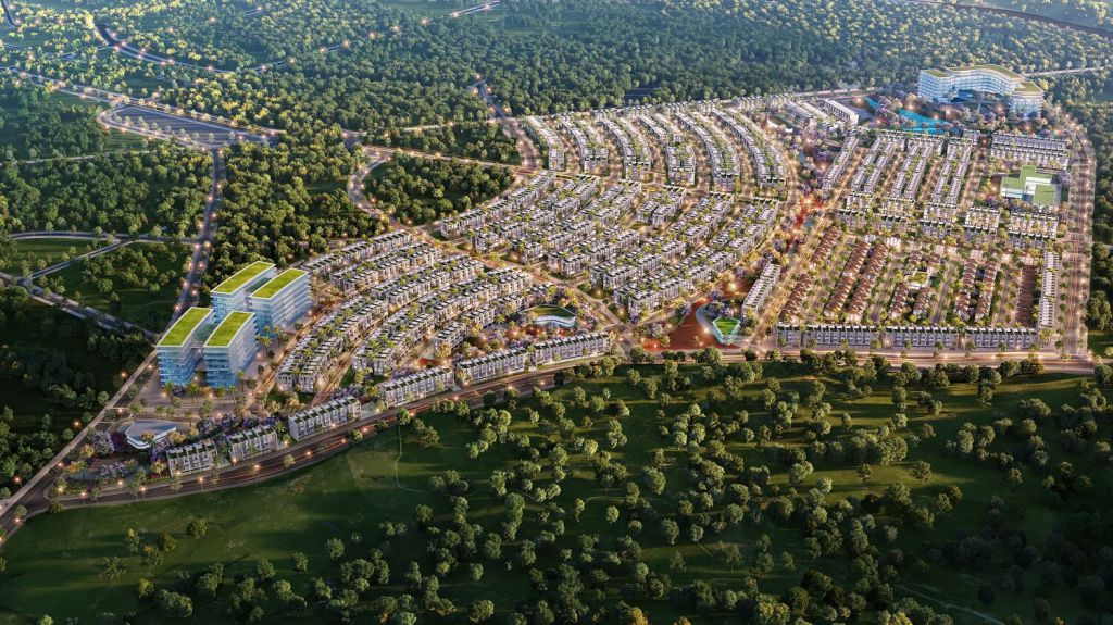 Phối cảnh tổng thể dự án Meyhomes Capital Phú Quốc