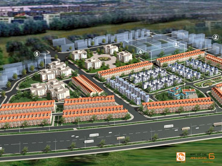 Phối cảnh dự án Dương Kinh New City tại Dương Kinh, Hải Phòng