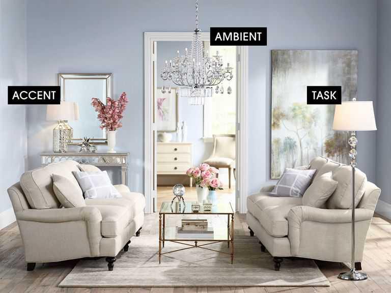 phòng khách với sofa màu trắng