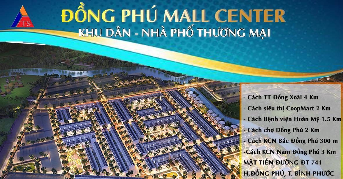 Phối cảnh Khu dân cư Đồng Phú Mall Center