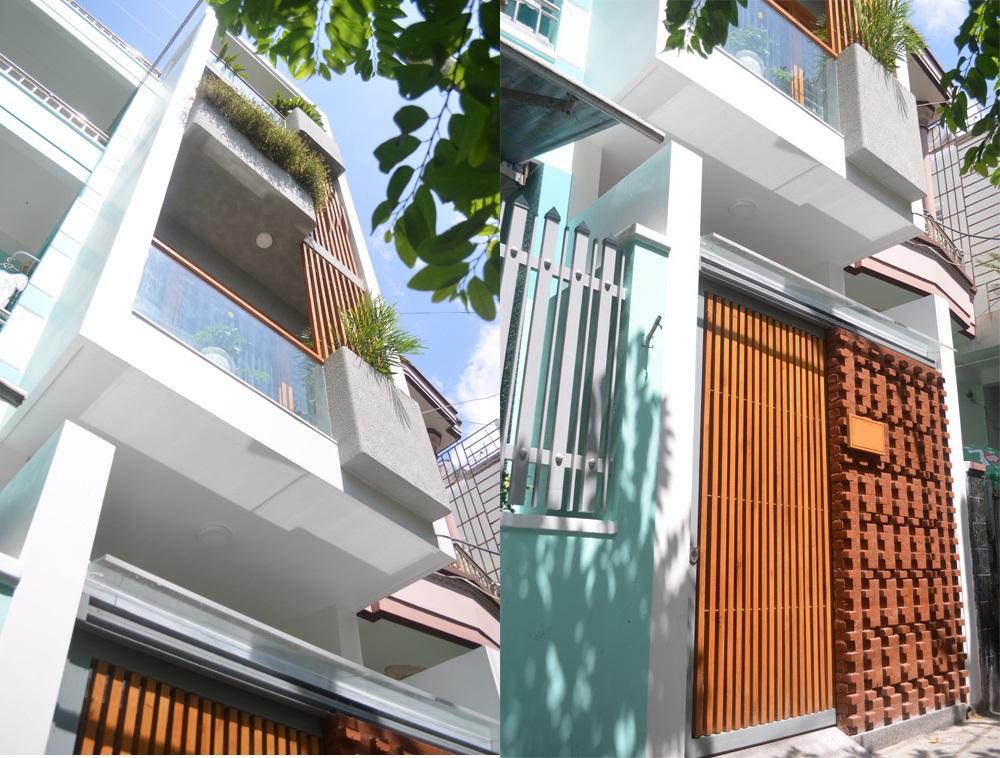 """Khám phá nhà 4 tầng lệch đẹp với nội thất """"mộc"""" 20200221174027-74df"""