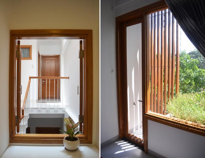 cửa sổ phòng mở ra ngoài