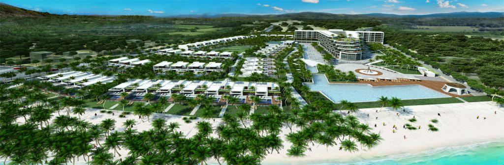 Phối cảnh tổng thể dự án Cantavil Long Hải Resort tại Long Điền, Bà Rịa Vũng Tàu
