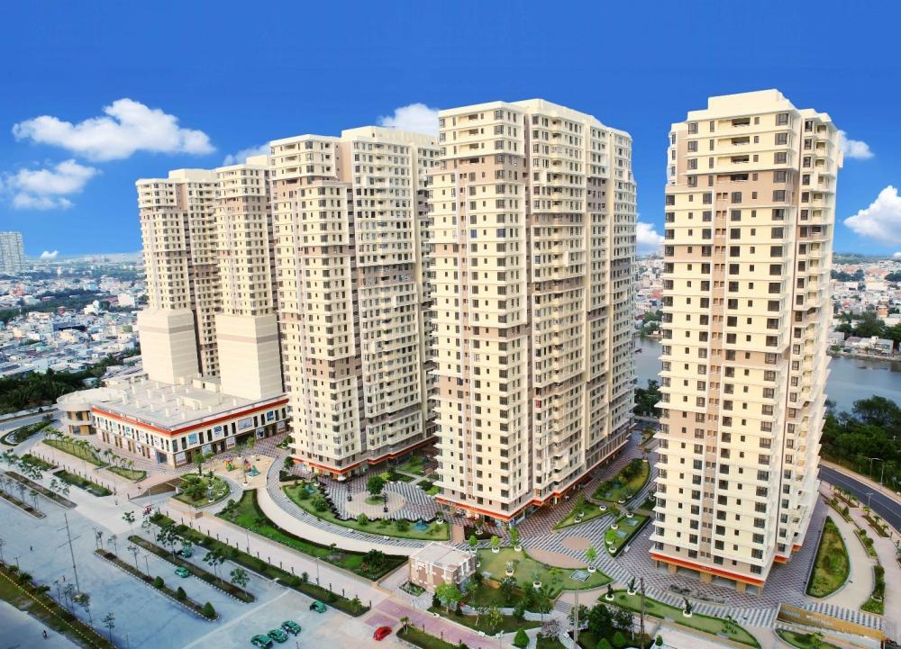 Dự án khu căn hộ gồm nhiều tòa chung cư cao tầng