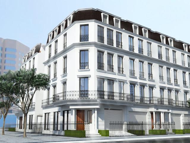 Phối cảnh dự án FLC Eco House Sài Đồng Long Biên