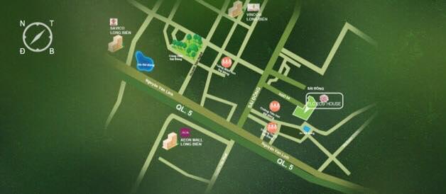 Vị trí dự án FLC Eco House trên bản đồ