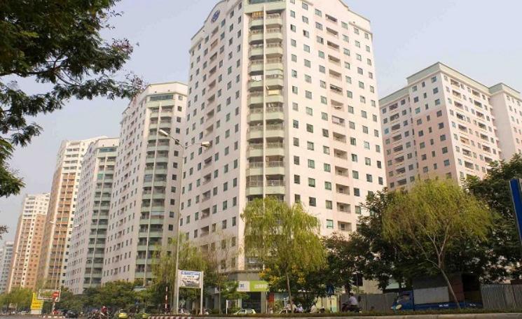 dự án chung cư gồm nhiều tòa nhà cao tầng