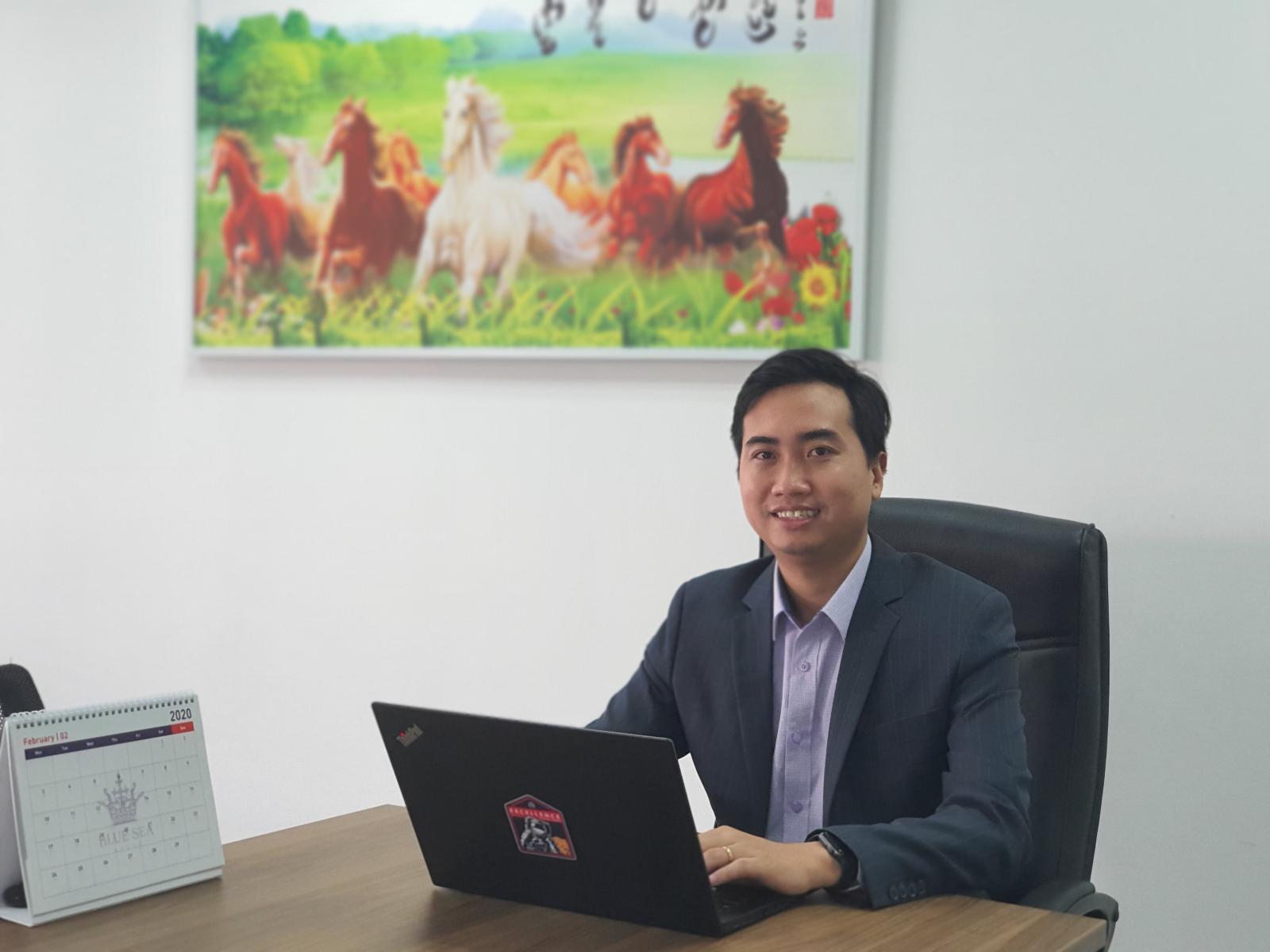Chân dung ông Đinh Minh Tuấn