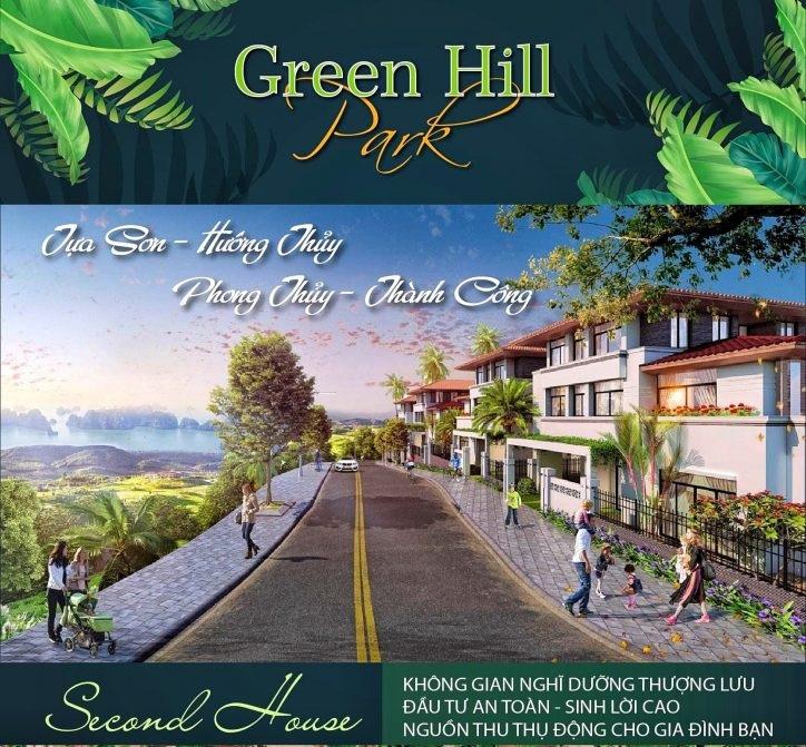 Phối cảnh dự án Green Hill Park tại Khánh Vĩnh, Khánh Hòa