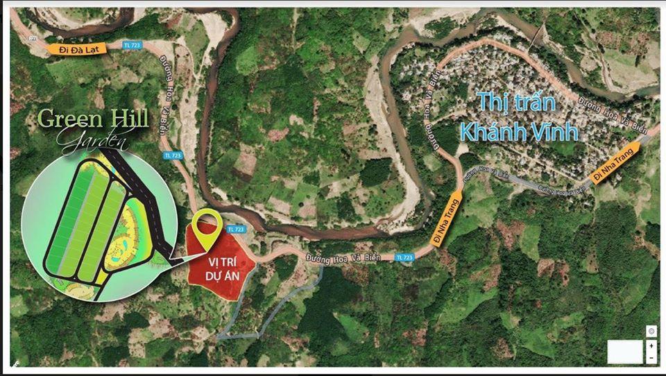 Vị trí dự án Green Hill Park trên bản đồ