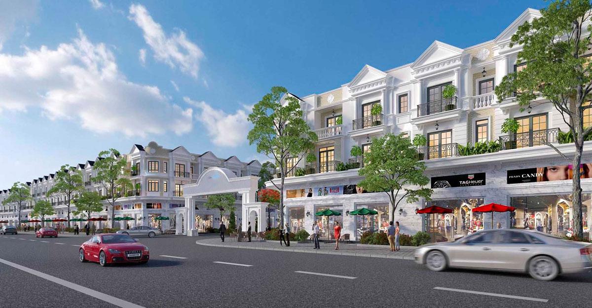 Hình ảnh phối cảnh dự án Thuận Hòa Lucky Home