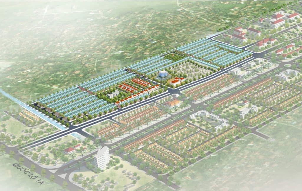 Hình ảnh phối cảnh Khu đô thị Hưng Hoà Hà Nam