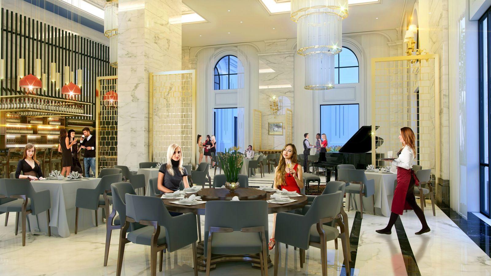 Nhà hàng tại Khu đô thị Hưng Hòa